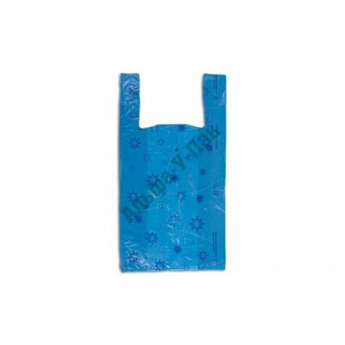 Пакет Майка 32х60 Звезда синяя