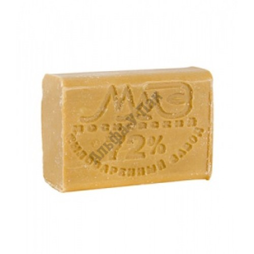 Мыло хозяйственное твердое (без запаха) 72% 200 гр