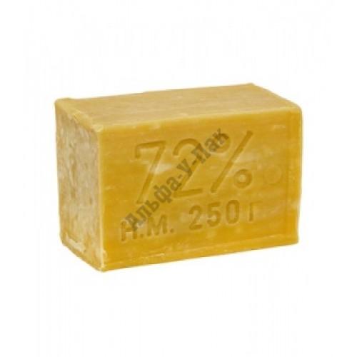 Мыло хозяйственное твердое (без запаха) 72% 250 гр