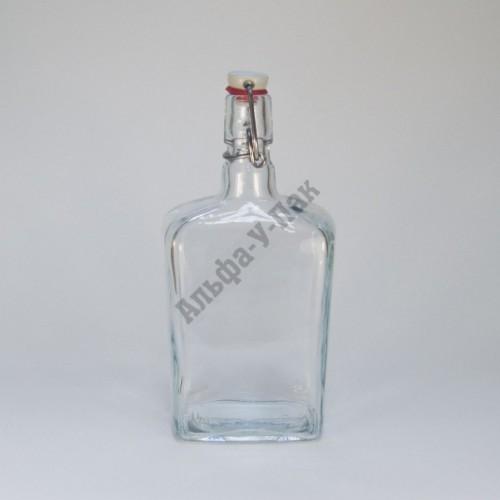 Бутылка 750 мл Малёк с бугельным замком