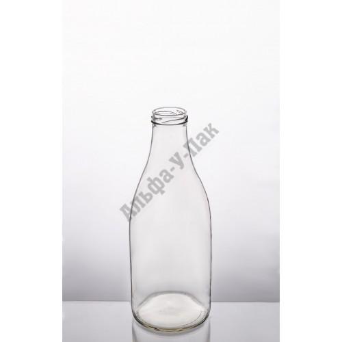Стеклянная бутылка 1л ТО-43 Молочная