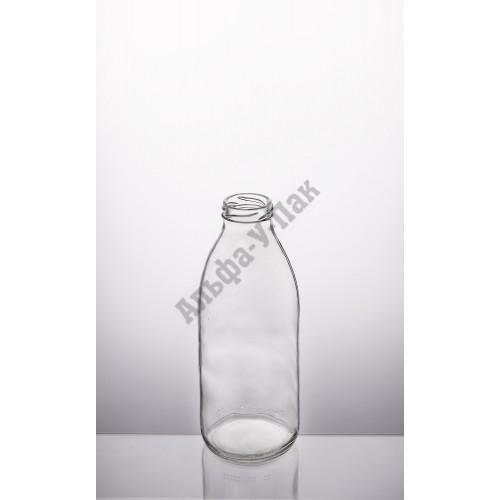 Стеклянная бутылка 0.750л ТО-43 Молочная