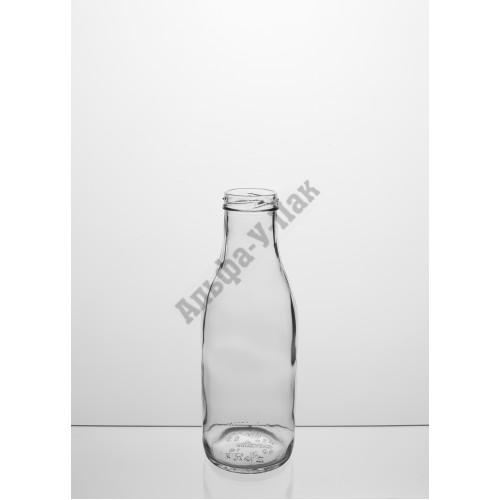 Стеклянная бутылка 0.5л ТО-43 Молочная