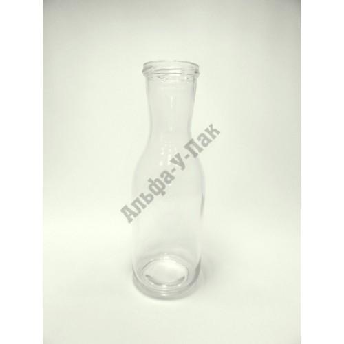 Стеклянная бутылка 1л ТО-66 Универсальная