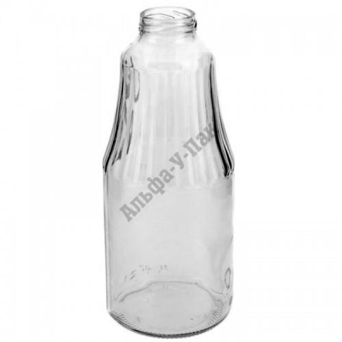 Стеклянная бутылка 1л ТО-43 Гранат