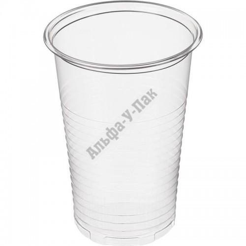 Стакан пластиковый Интеко прозрачный 200мл 200 штук в упаковке