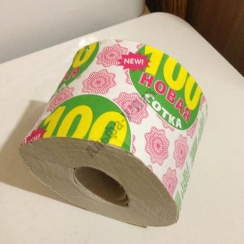 Туалетная бумага Новая Сотка 1-слойная