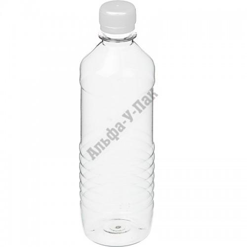 Бутылка пластиковая прозрачная 500мл (диаметр горла 28мм) 100 штук в упаковке