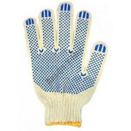 Перчатки ХБ с ПВХ (4 нити)
