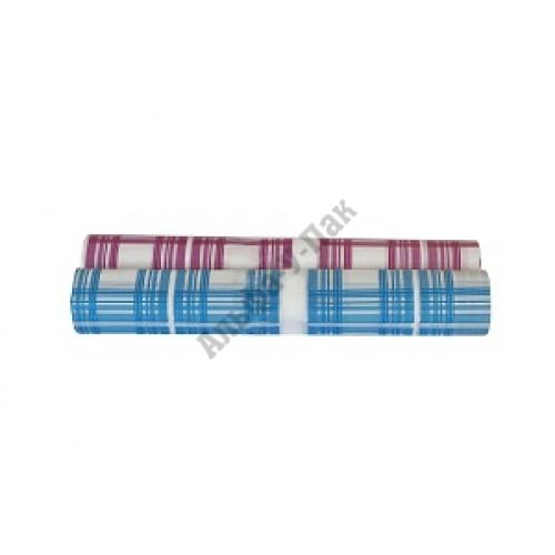 Скатерть в рулоне п/э 110 см х 180 см клетка красная СП