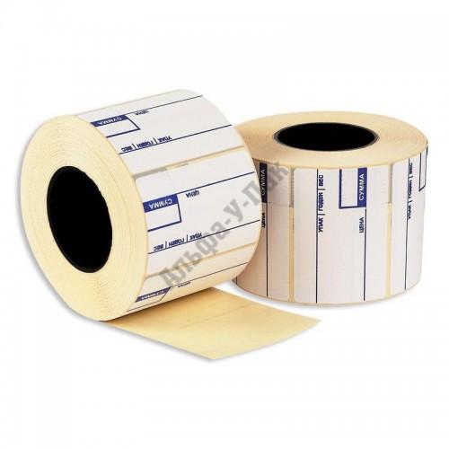 Термоэтикетки 58х40мм Eco с печатью