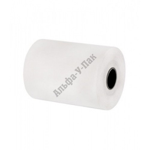 Чековая лента из термобумаги 80мм (диаметр 62мм, втулка 12мм)