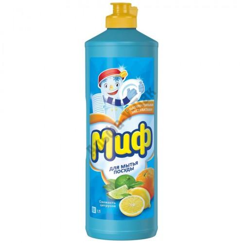 Средство для мытья посуды Миф 1 л Свежесть цитрусов
