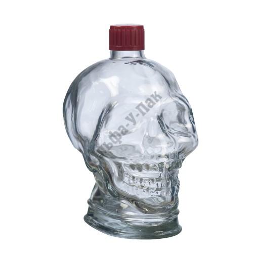 Бутыль 1л  Череп