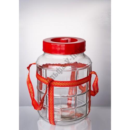 Бутыль 12л с гидрозатвором
