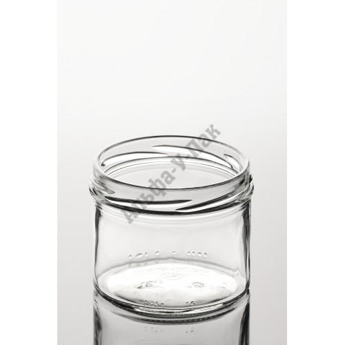 Банка стеклянная 250 мл ТО-82 (Slim)