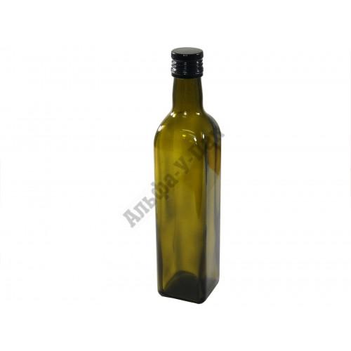 Стеклянная бутылка 500мл Мараска