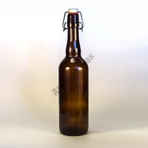 Бутылка 750 мл с бугельной пробкой