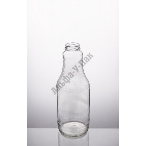 Стеклянная бутылка 1л ТО-43 Бриолла