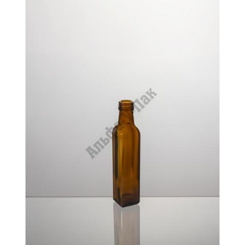 Стеклянная бутылка 250мл Мараска