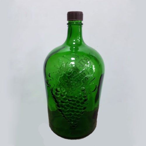 Бутыль 5л Ровоам зелёный