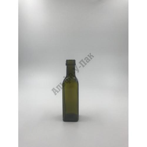 Стеклянная бутылка 100мл Мараска